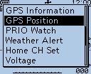 GPS Possition
